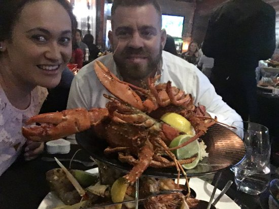Beaumaris, Australia: Valentines dinner seafood platter for two