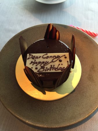 Surprise Bday Cake Picture of Jaan Singapore TripAdvisor