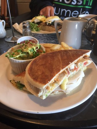 Tokoroa, New Zealand: Chicken Panini