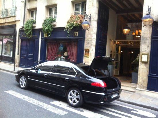 Bobigny, Francia: Pick up from Paris Hotel