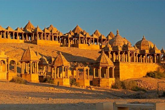 Rajasthan, Inde : Bada Bagh in Jaisalmer