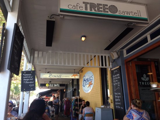 Sawtell, Australia: Located in the centre of the main street