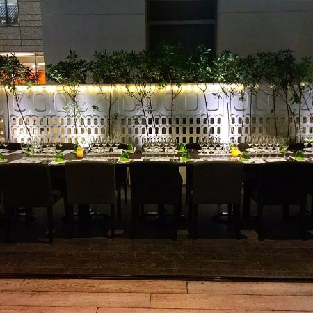BOCA dinner setting