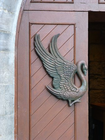 Drumcliff, Irlandia: Wonderful handle on church door