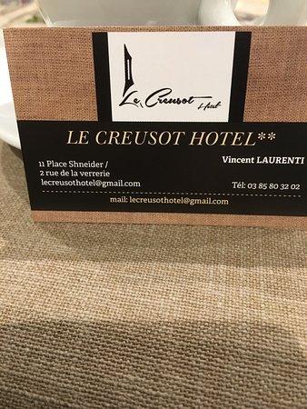 Le Creusot, Prancis: Super resto menu st Valentin formidable très bon rapport qualité prix le service sympathique bel