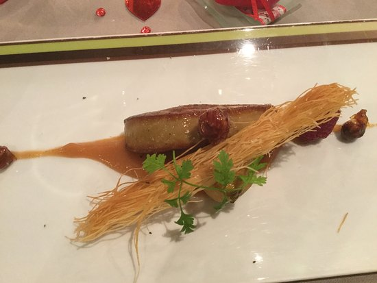 Ille-sur-Tet, França: Escalope de foie gras