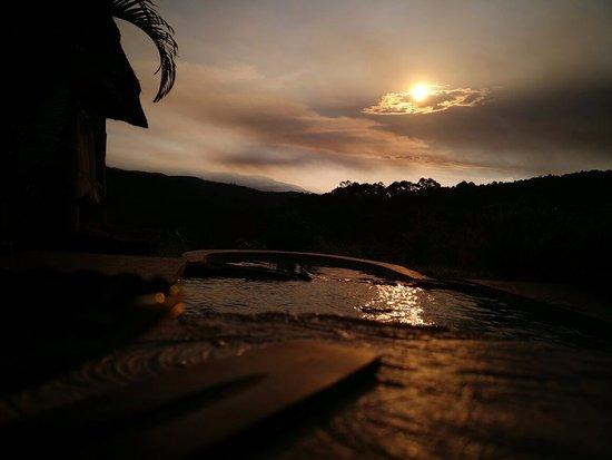 Sabie, Zuid-Afrika: Sunset at Amber Moon