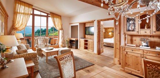 Hotel Quelle Nature Spa Resort : Suite Royal Dolomites
