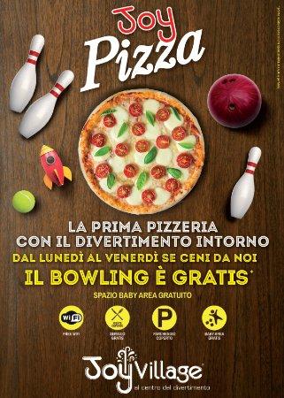 Altavilla Vicentina, Italy: Promo Pizza + Bowling: da lunedì a venerdì, se ceni da noi, il bowling è gratis!