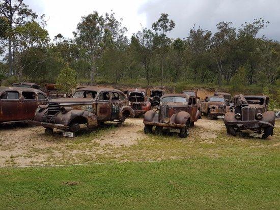 Herberton, Australia: lots of old vehicles