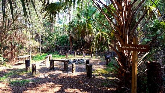 Jupiter, FL: Camp fire circle