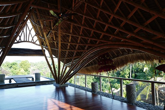 Yoga Hut Picture Of The Udaya Resorts Spa Ubud Tripadvisor