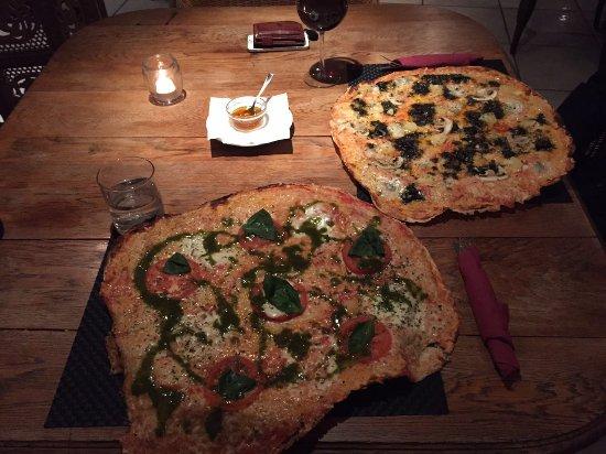 Galilea, Spain: Nuestras pizzas
