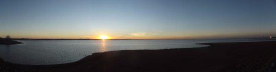Hefner Lake & Park: Lake Sunset