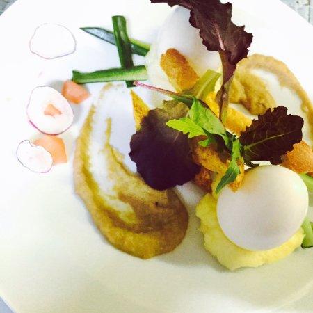 Le Clos de la Marne : Oeuf de poulet mollet