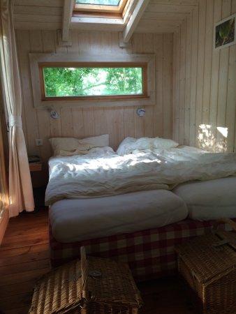 Monchberg, Германия: Unser Baumhaus von außen und innen