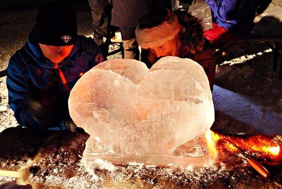Explore Are: isskulptering i Åre
