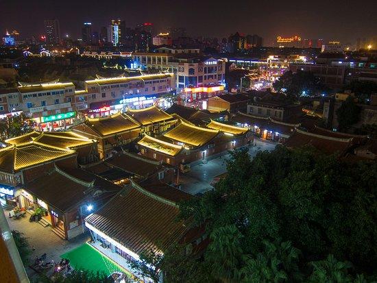 Quanzhou, Cina: Rooftop view