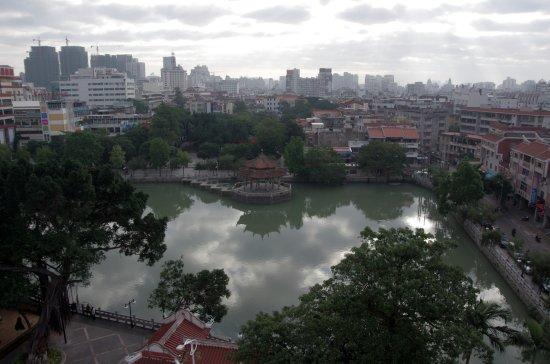 Quanzhou, China: View over Baiyuan Pool
