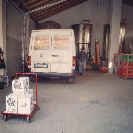 Monta, Italia: Ecco il momento del carico