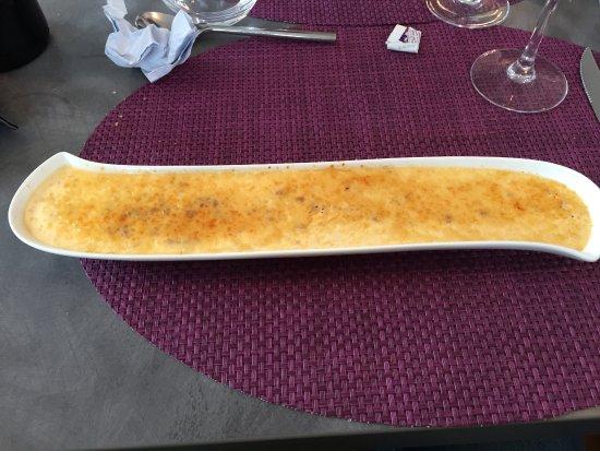 La Roche Chalais, Γαλλία: Crème brûlée