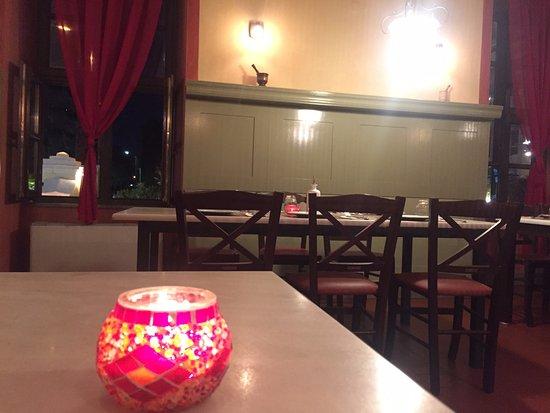 Stavroupoli, Greece: Ο χώρος του εστιατορίου.