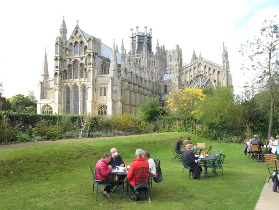 Ely Cathedral from the Almonry