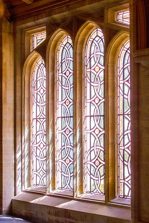 Ely Cathedral, window passage to Lady Chapel