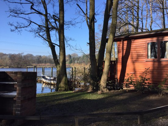 Forton, UK: Woodsman Lodge