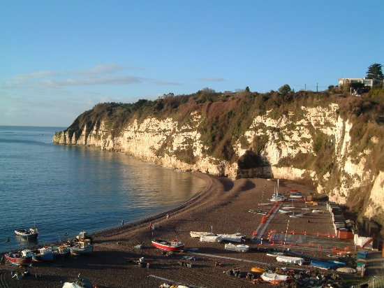 Beer, UK: A view from the cliff path