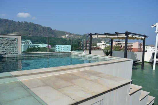 Oscar Boutique Hotel: Vue piscine