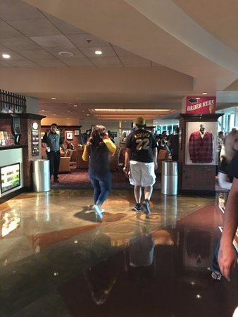 PNC Park: inside clubhouse seating