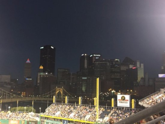 PNC Park: The best part THE VIEW!!!