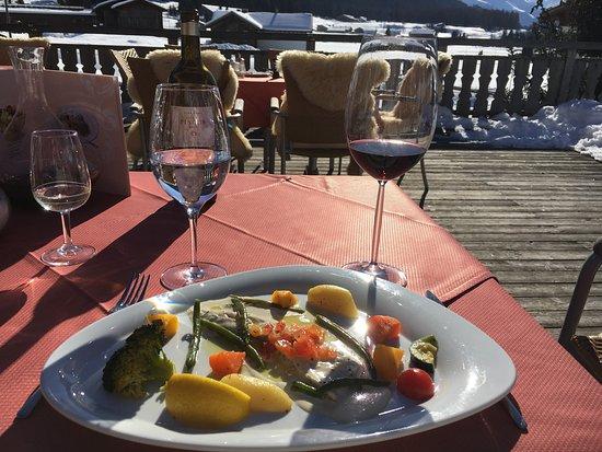 Davos Platz, Ελβετία: 14.02.2017 jedzenie jak zwykle wyborne dziękujemy Roberto za to,że u Ciebie zawsze jest super🍀?