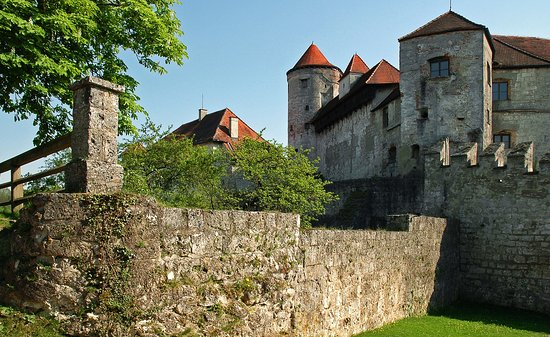 Burghausen, Almanya: Крепость Бургхаузен