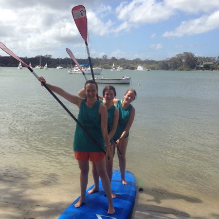 Noosa Stand Up Paddle: ...great SUP times on the Noosa River , Noosa Standup Paddle