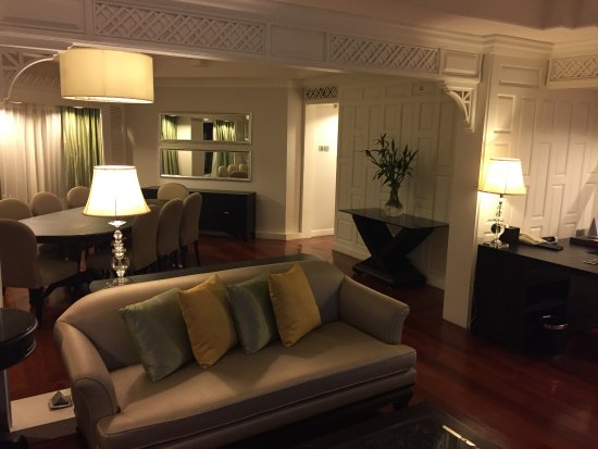 Living Room And Dining At Royal Suite