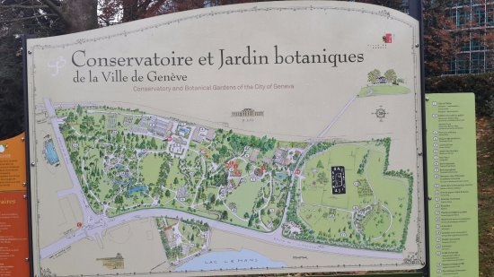 jardin botanique villa le chene site map - Jardin Botanique Geneve