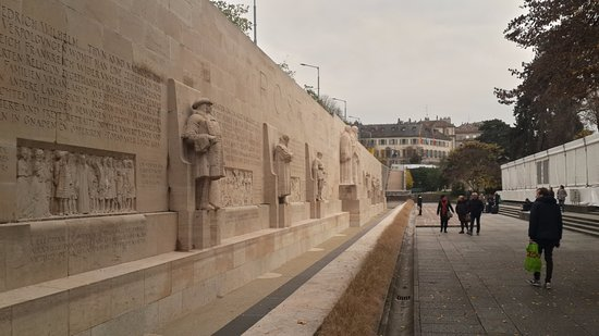 Reformation Wall (Mur de la Reformation): Reformation wall 3