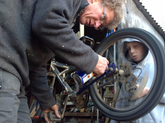 Winkleigh, UK: Get help fixing your bike at Wheatland Farm
