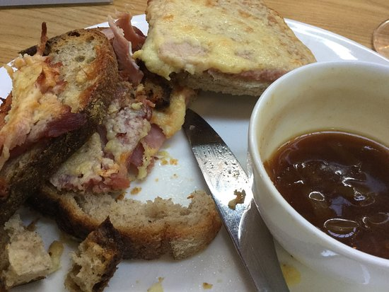 Retford, UK: croque monsieur