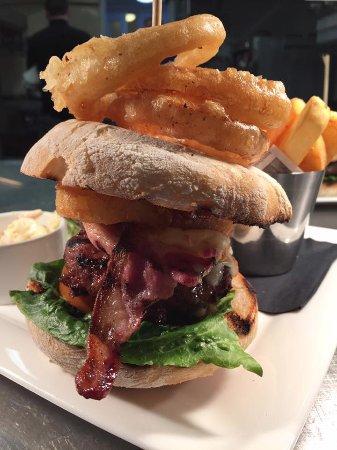 Morfa Nefyn, UK: Ultimo burger 6oz welsh black beef