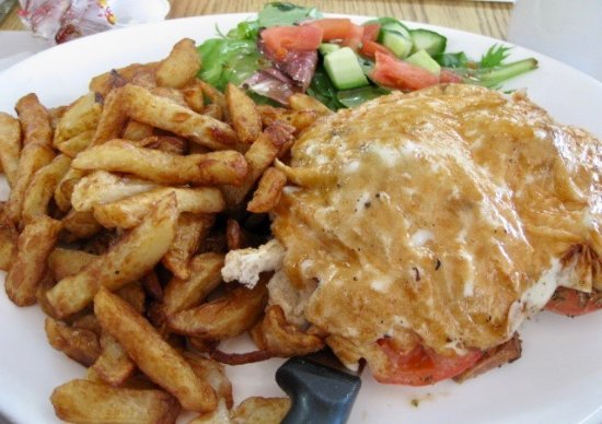 Salaberry-de-Valleyfield, Καναδάς: croque-monsieur of smoked meat
