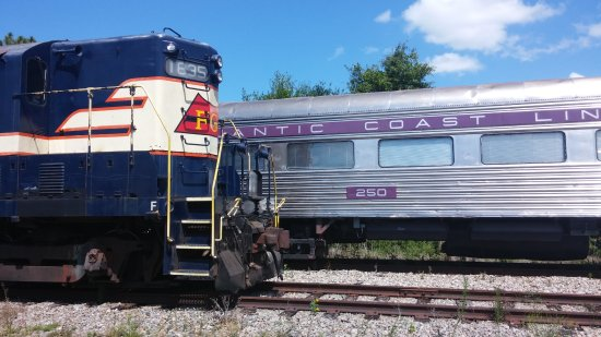 Parrish, Floride : Ride the history at the Florida Railroad Museum