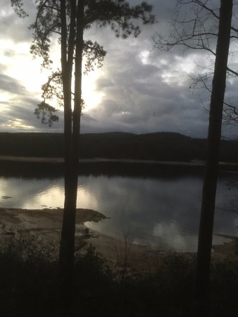 Salem, SC: View from cabin at Devils Fork state park- January 2017