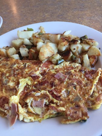 Ossining, Estado de Nueva York: The Country Omelet with Home Fries.