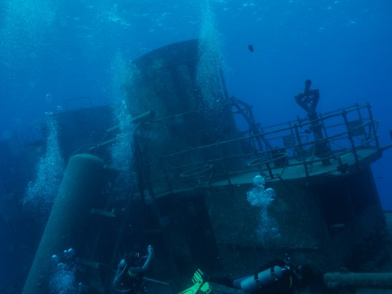 Kittiwake Shipwreck & Artificial Reef: USS Kitty Wake