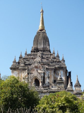 Gawdawpalin Temple: An impsing stupa - supposedly the tallest in Bagan