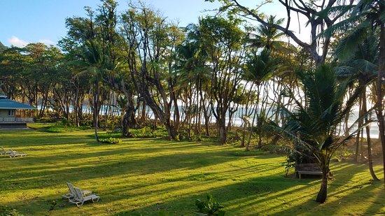 Rosalie Bay Resort: Morning at Rosalie Bay