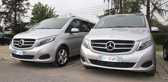 Prestige Rent: A few of our 7 passenger Mercedes V class MPVs